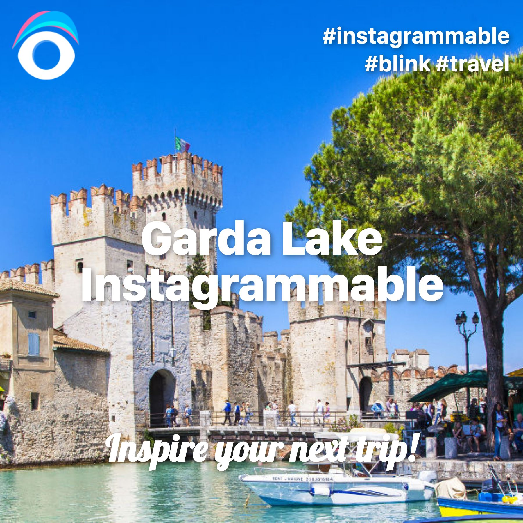 Garda Lake Instagrammable